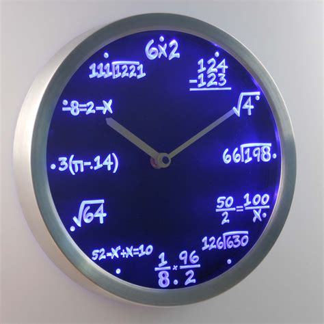 cool wall clock promotion online shopping for promotional free math algebra promotion shop for promotional free math