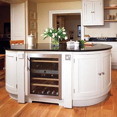 Oval Kitchen Island Curved All About Kitchen Islands This House