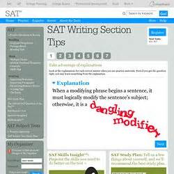 sat writing section sat junior year pearltrees