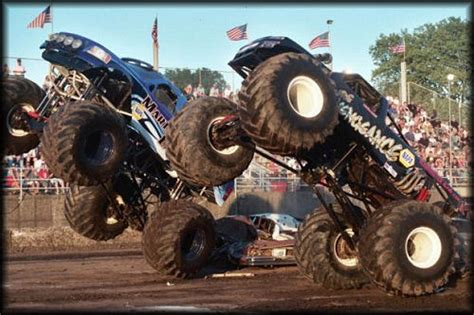 monster truck videos crashes eric s stone cold canyon cruiser arst349