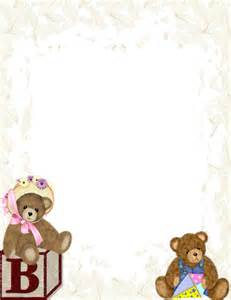 free baby templates baby themed free stationery template downloads