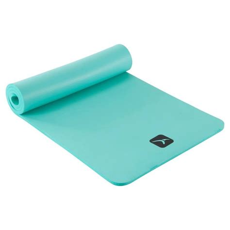 comfortable yoga mat comfort pilates mat green decathlon