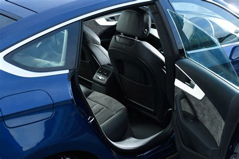 Audi A5 Backseat by Audi A5 Sportback 2017 Driving Performance Parkers