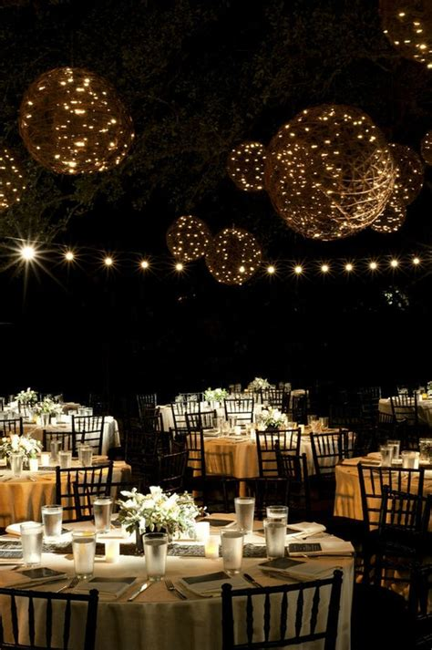backyard wedding reception decoration ideas outdoor wedding decorating ideas photograph outdoor night