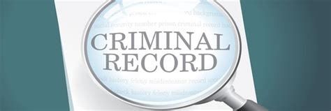 Criminal Record Access Access And Review