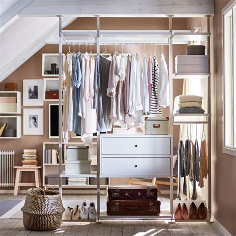 dressing chambre ikea dressing ouvert 6 exemples pour l adopter
