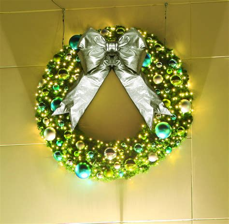 coastal commercial wreath commercial christmas supply