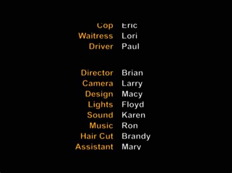 Credit Roll Format How To Make Closing Credits Or End Credits In Adobe Premiere Pro
