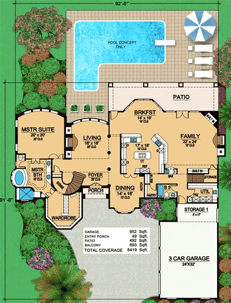 outdoor living floor plans second floor outdoor lounge 36280tx 1st floor master