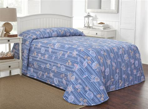 Size Bedspreads 100 Quot X 118 Quot Martex Rx Bedspread Size Shells Stripes