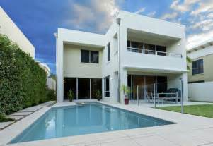 Superior The Saffron House #10: Swimming-pool-at-modern-two-story-home.jpg