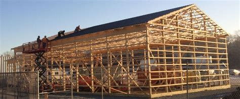 how to build a barn house hansen pole buildings offer many designs for different