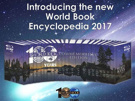 the world books world book encyclopedia 2017 presentation