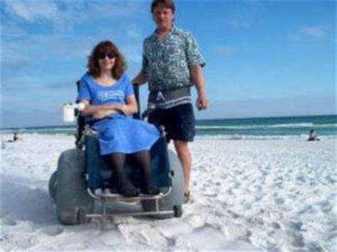 navarre beach local beach wheelchair for rent | rent it today