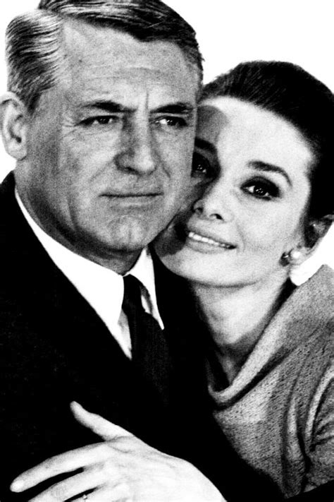 cary grant hairline audrey hepburn and cary grant photographed for charade