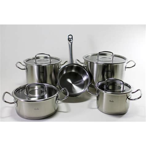 Fissler Profi Collection Set by Fissler Topfset Original Profi Collection 5 Tlg Gro 223 E