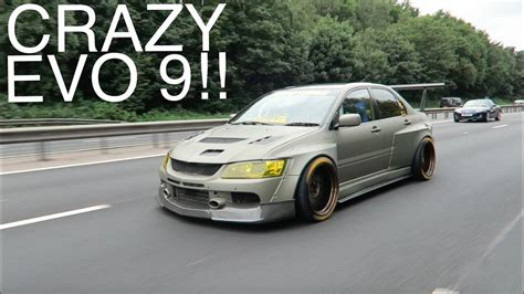 widebody evo clinched wide mitsubishi evo 9