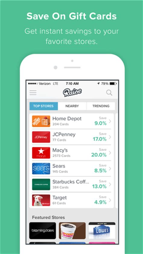 Buy App Store Gift Card - raise buy sell gift cards mobile wallet on the app store on itunes