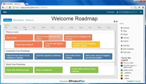 project roadmap template powerpoint free create project