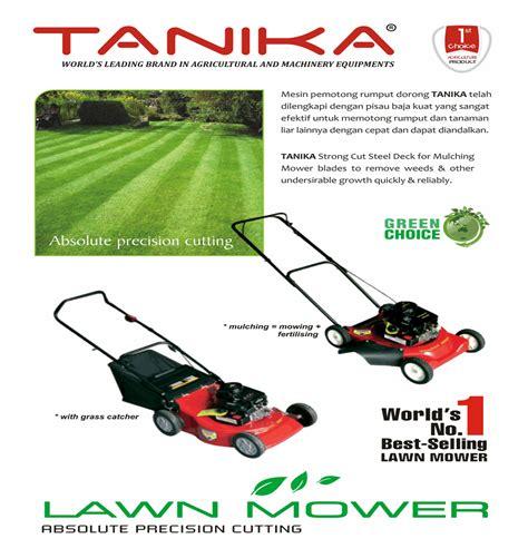 Jenis Pisau Potong Rumput harga jual tanika mulching mower mesin potong rumput dorong