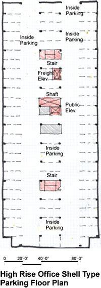 Efficient Floor Plans by Parking Basement Wbdg Whole Building Design Guide
