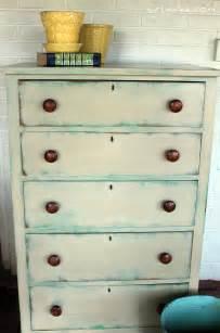 Annie sloan chalk paint versailles amp antibes green dresser re do by