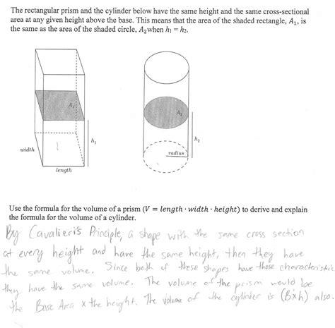 formula for cross sectional area of a cylinder uncategorized volume of a cone worksheet klimttreeoflife