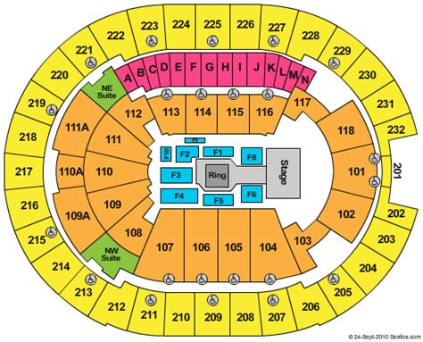amway center seating chart amway center seating chart