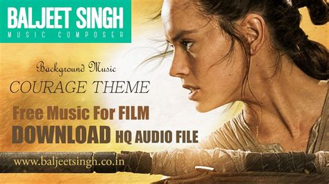 theme music fortitude free background music courage theme baljeet singh