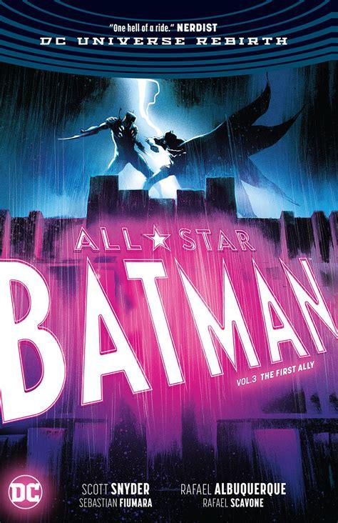 all star batman hc dec170374 all star batman hc vol 03 first ally rebirth previews world