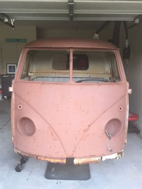 vw volkswagen type ii  pickup truck single cab bus vanagon split window