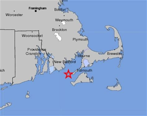 where is cape cod located on a map framingham news two small earthquakes 67 from