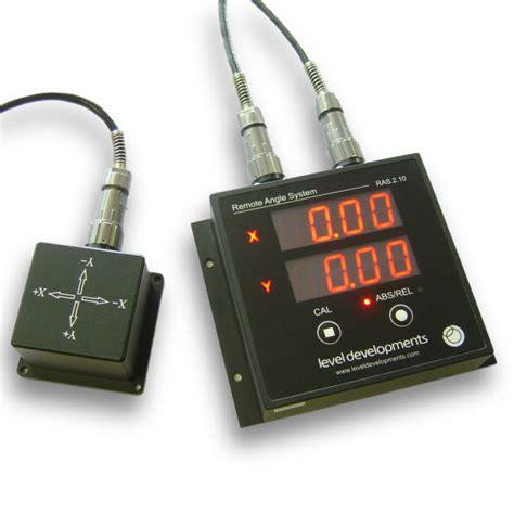 ras   dual axis inclinometer  remote display