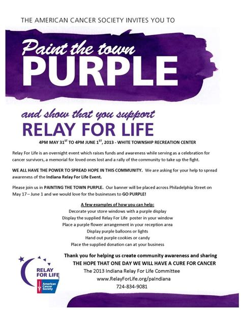 relay for flyer template 307 best images about relay for on