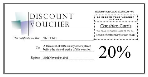 Editable Discount Voucher Giveaway Template With Black Ad Voucher Templates Word