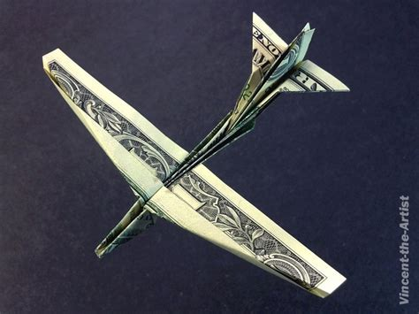 Dollar Bill Origami Airplane - dollar bill origami b 52 stratofortress jet fighter