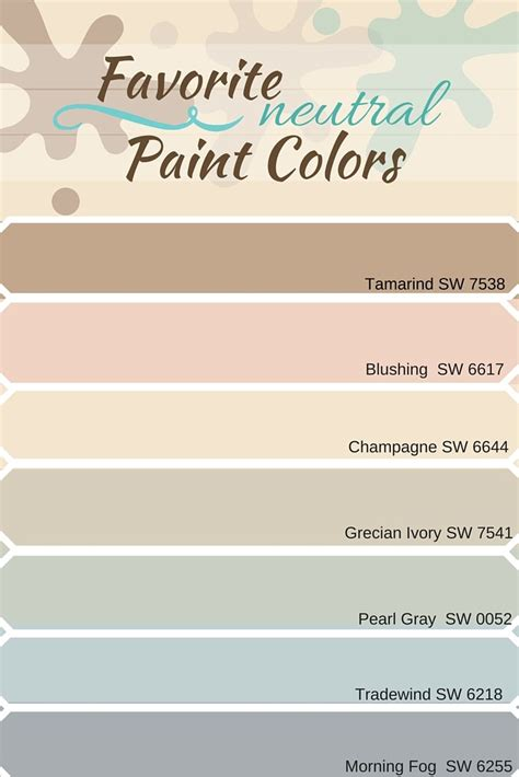 top sherwin williams neutral colors favorite neutral paint colors from sherwin williams