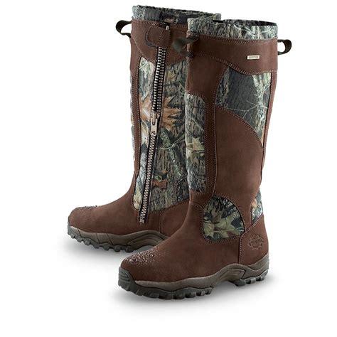 snake boots s waterproof 18 quot guide gear 174 side zip cottonmouth ii