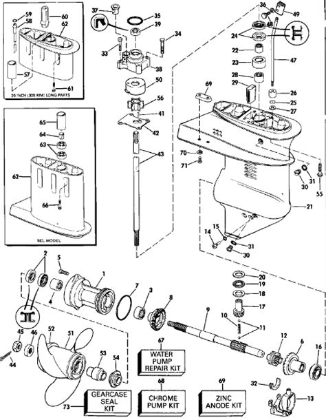 evinrude lower unit diagram how to drop the lower unit a 15 hp evinrude engine