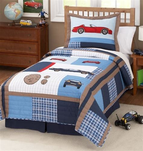boy toddler bedding sets cars quilt bedding set kids decorating ideas