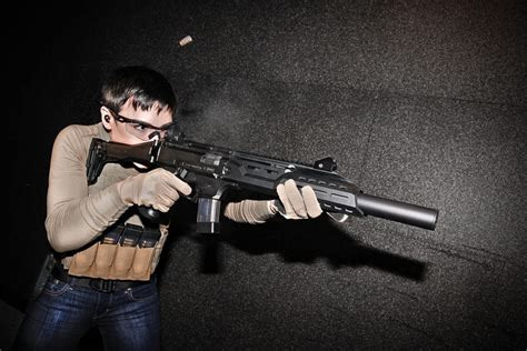 Luth Mba 2 Rifle Stock Exile Hammerhead by Cz Scorpion Evo 3 S1 Carbine On Target Magazine