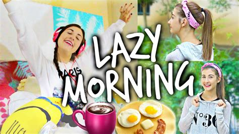 cute hairstyles maybaby morning routine for lazy people youtube