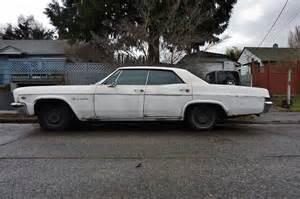 seattle s parked cars 1966 chevrolet impala sedan