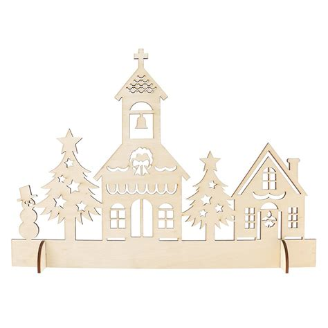 how to make wooden a christmas church buy wholesale church ornament from china church ornament wholesalers