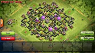Clash of clans th8 farming base design guidescroll