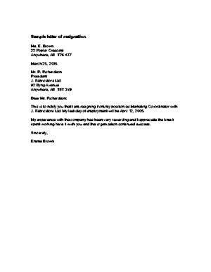 resignation letter resignation letter personal