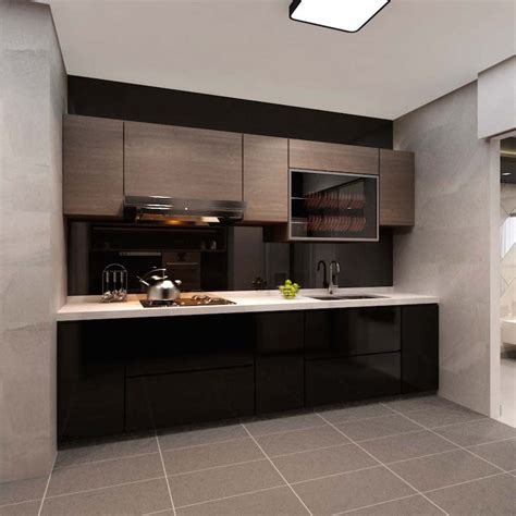 layout of kitchen cabinets extraordinary inside nice impressing refreshing design ideas for hdb 4 room flat