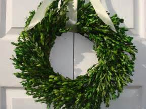 Artificial Boxwood Garland Preserved 22 Boxwood Wreath Easter Wreath Mothers Day