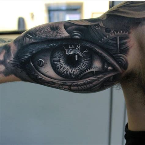 eyeball tattoo real visual destruction video 220 best realistic tattoos images on pinterest