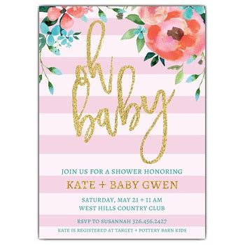 What To Write For Baby Shower by What To Write On Baby Shower Invite Invitation Ideas